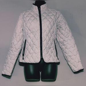 Eddie Bauer quilted goose down lining jacket